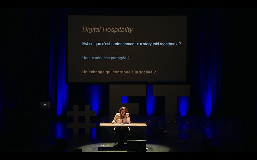"""""""15 minutes chrono"""" tijdens de conferentie """"Les journées nationales du tourisme institutionnel"""" à Pau (2016)"""