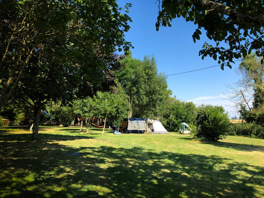 Le camping rural à La Grosse Talle