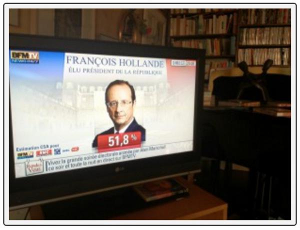 François Hollande president van Frankrijk (2012)