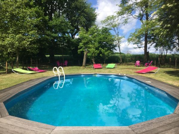 Het zwembad op La Grosse Talle