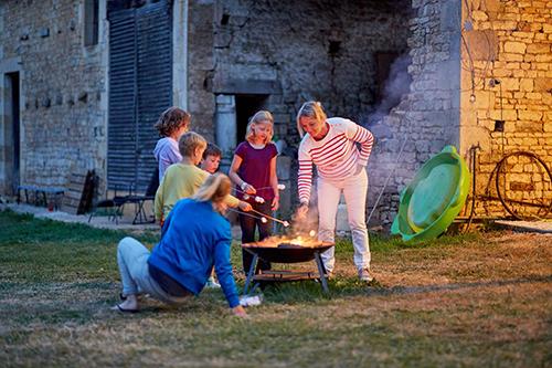Kampvuurtje en marshmellowfestijn op La Grosse Talle