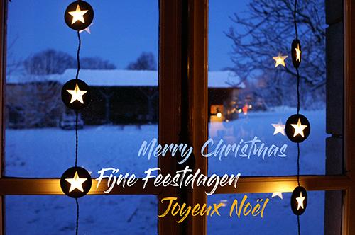 Fijne feestdagen - Joyeux Noël - Merry Christmas from La Grosse Talle